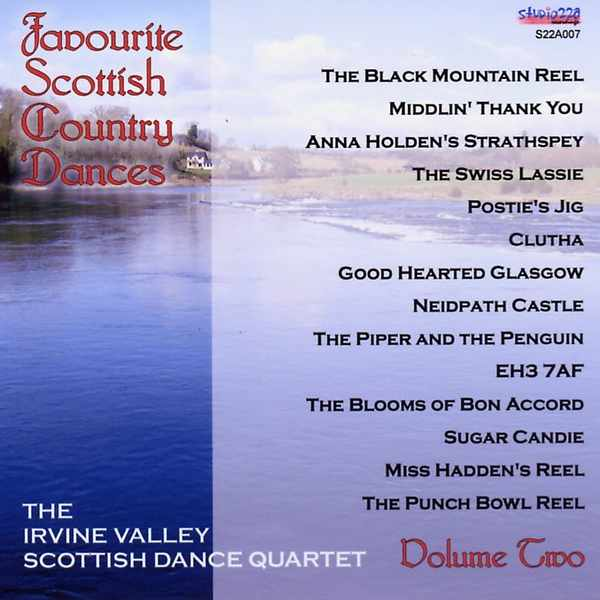 Irvine Valley Scottish Dance Quartet - Favourite Scottish Country Dance Vol 2 S22A007