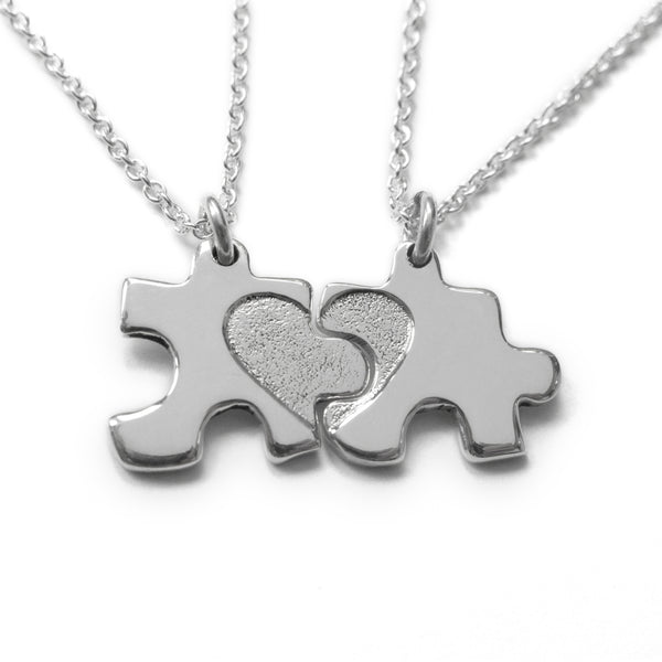 My Mummy and Me Jigsaw Necklace
