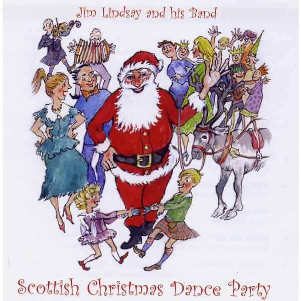 Jim Lindsay & His Scottish Dance Band - Scottish Christmas Dance Party CD front