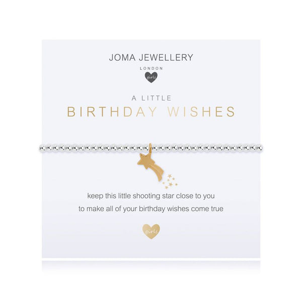 Joma Jewellery A Little Birthday Wishes Child's Bracelet C481