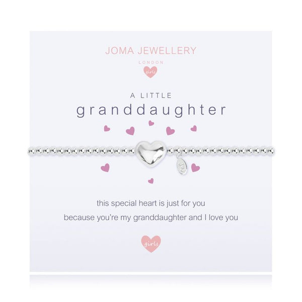 Joma Jewellery A Little Granddaughter Child's Bracelet C395