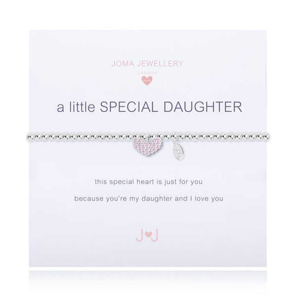 Joma Jewellery A Little Special Daughter Child's Bracelet C346