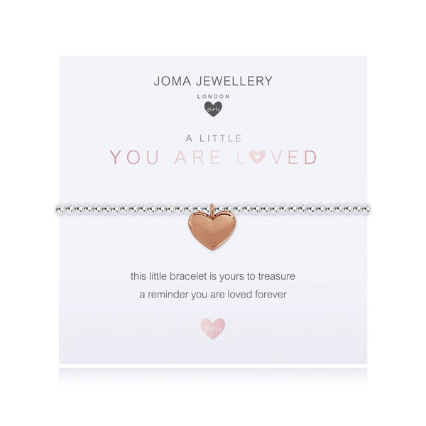 Joma Jewellery A Little You Are Loved Child's Bracelet C480