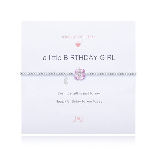 Joma Jewellery A Little Birthday Girl Bracelet C111