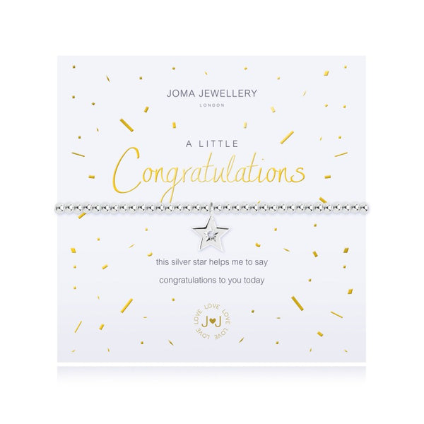 Joma Jewellery A Little Congratulations Bracelet 2699