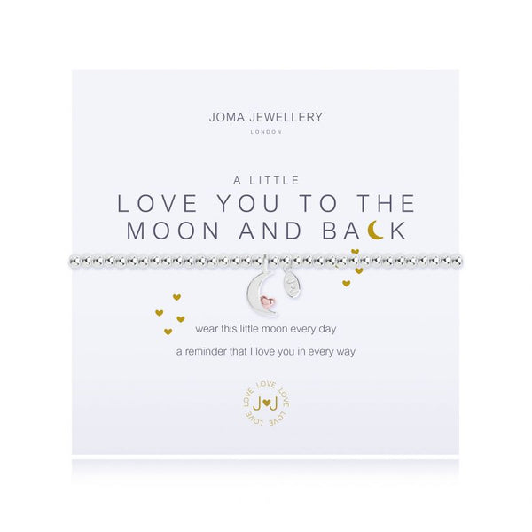 Joma Jewellery A Little Love You To The Moon And Back Bracelet 2521