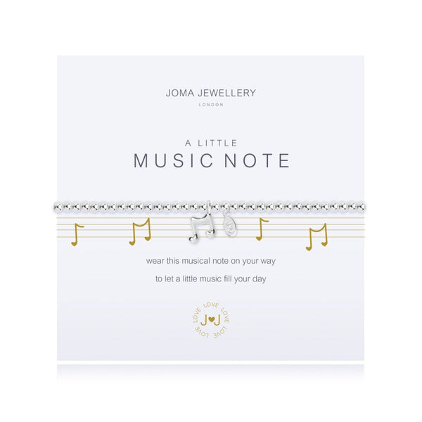 Joma Jewellery A Little Music Note Bracelet