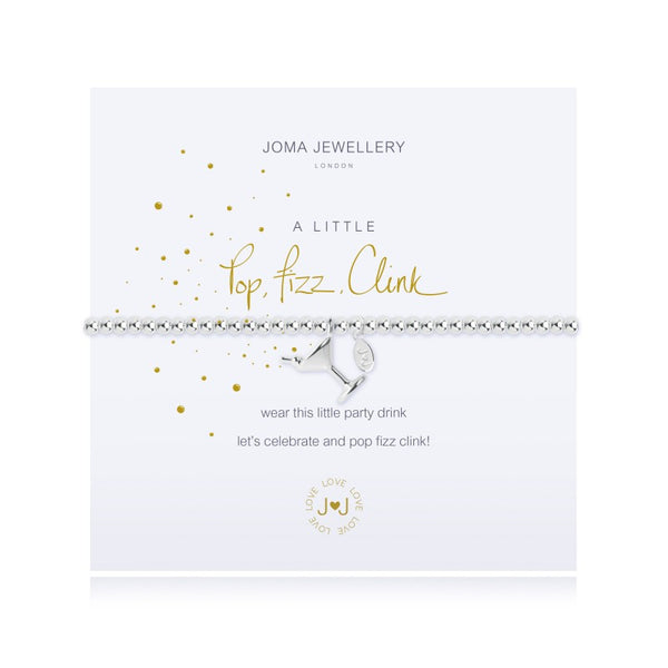 Joma Jewellery A Little Pop Fizz Clink Bracelet 2437