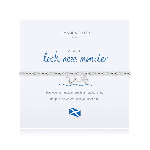 Joma Jewellery A Wee Loch Ness Monster Bracelet 2551