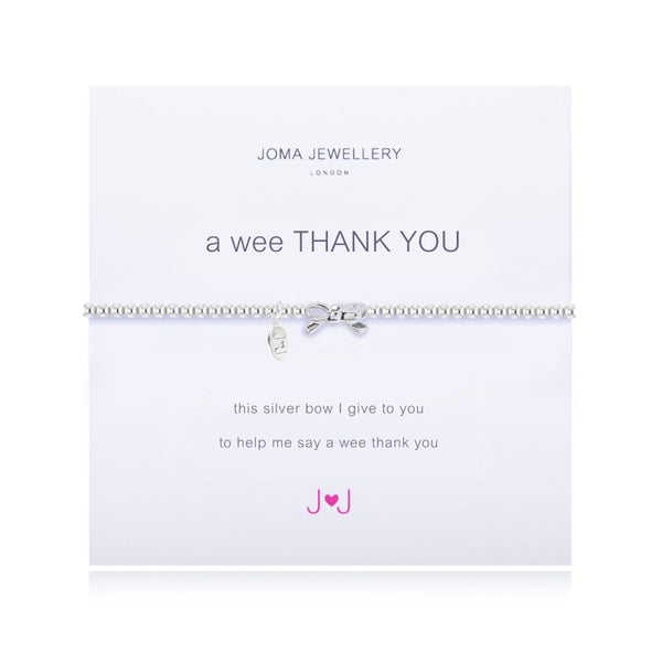 Joma Jewellery A Wee Thank You Bracelet 1509