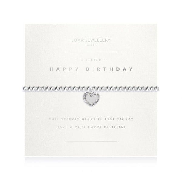 Joma Jewellery Happy Birthday Facetted Bracelet 3193