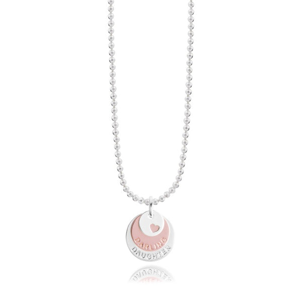 Joma Jewellery Klio Coin Necklace Darling Daughter