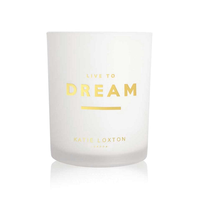 Katie Loxton Sentiment Scented Candle Live To Dream KLC162 votive