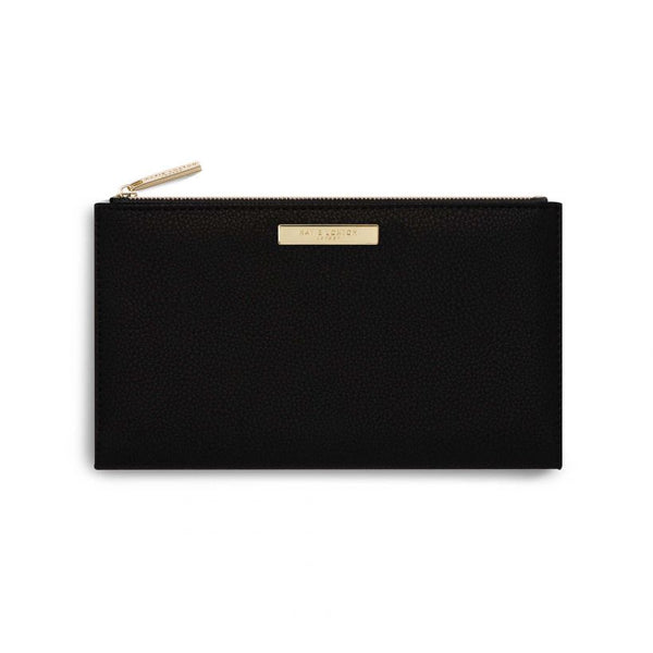 Katie Loxton Alise Fold Out Purse Black KLB639 front