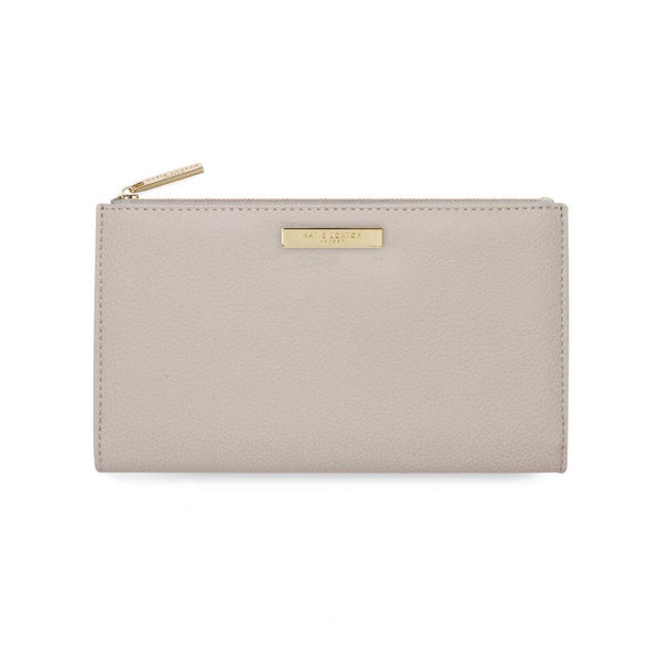 Katie Loxton Alise Fold Out Purse Stone KLB640 front
