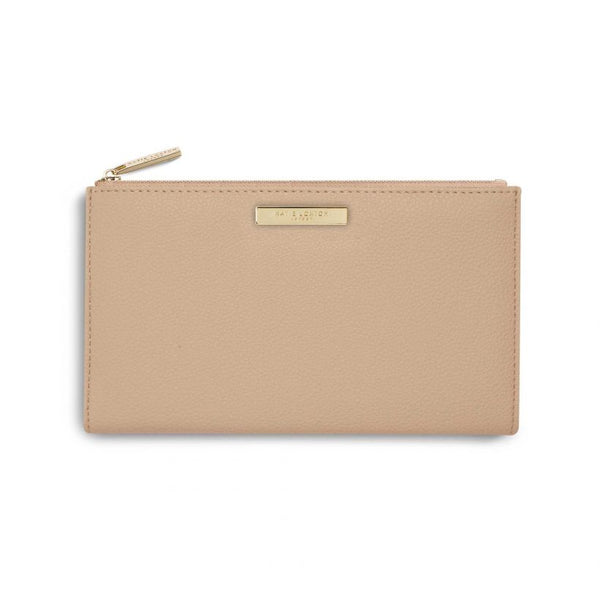 Katie Loxton Alise Fold Out Purse Tan KLB641 front