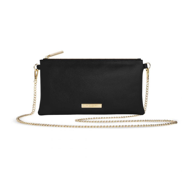 Katie Loxton Freya Cross Body Bag Black KLB660 front