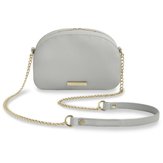 Katie Loxton Half Moon Cross-body Bag - White KLB407 front