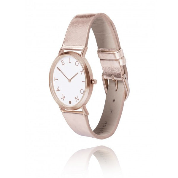 Katie Loxton Luna Watch Rose Gold KLW007 side