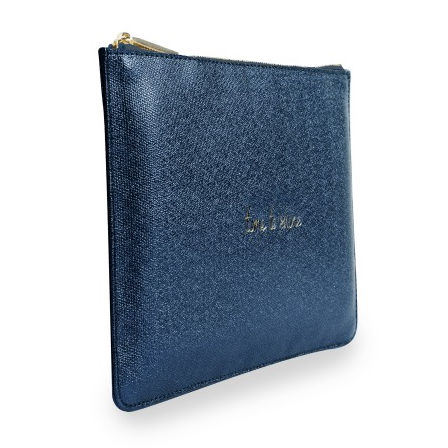 Katie Loxton Perfect Pouch Time To Shine Shiny Sapphire side