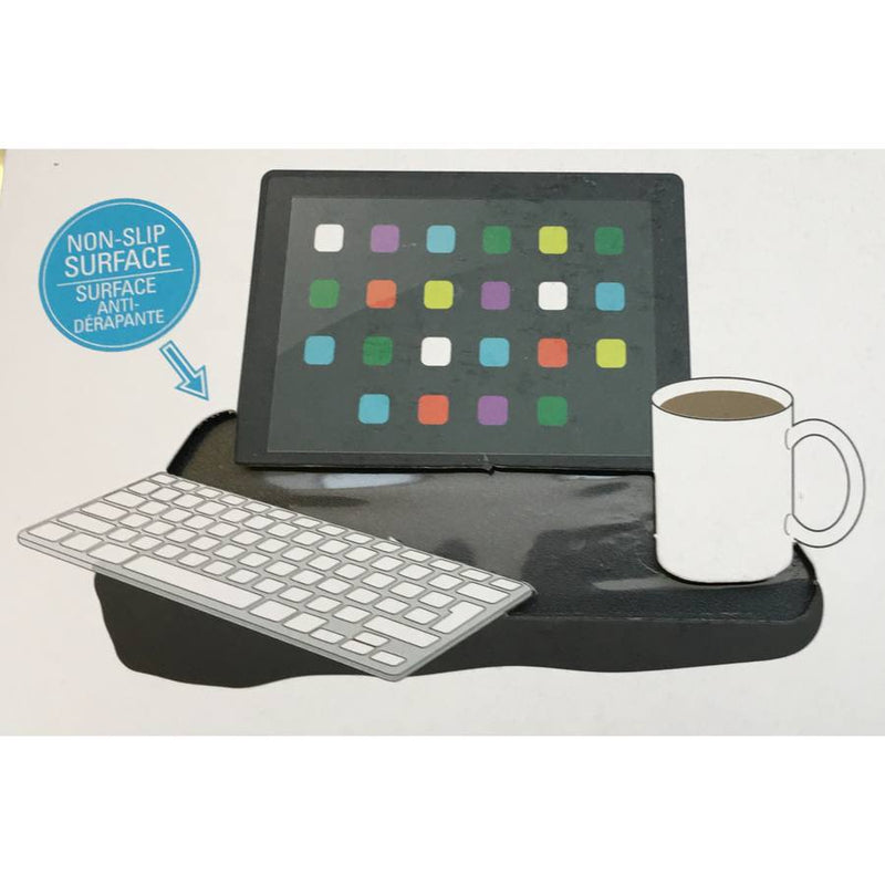 Kikkerland iBed Laptop Desk For iPad US039-BK diagram
