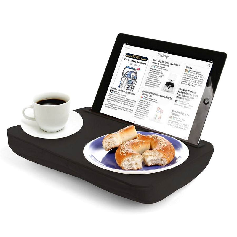 Kikkerland iBed Laptop Desk For iPad US039-BK in use