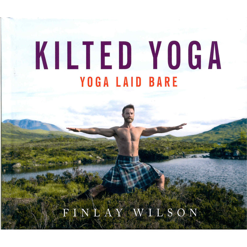Kilted Yoga book by Finlay Wilson front cover