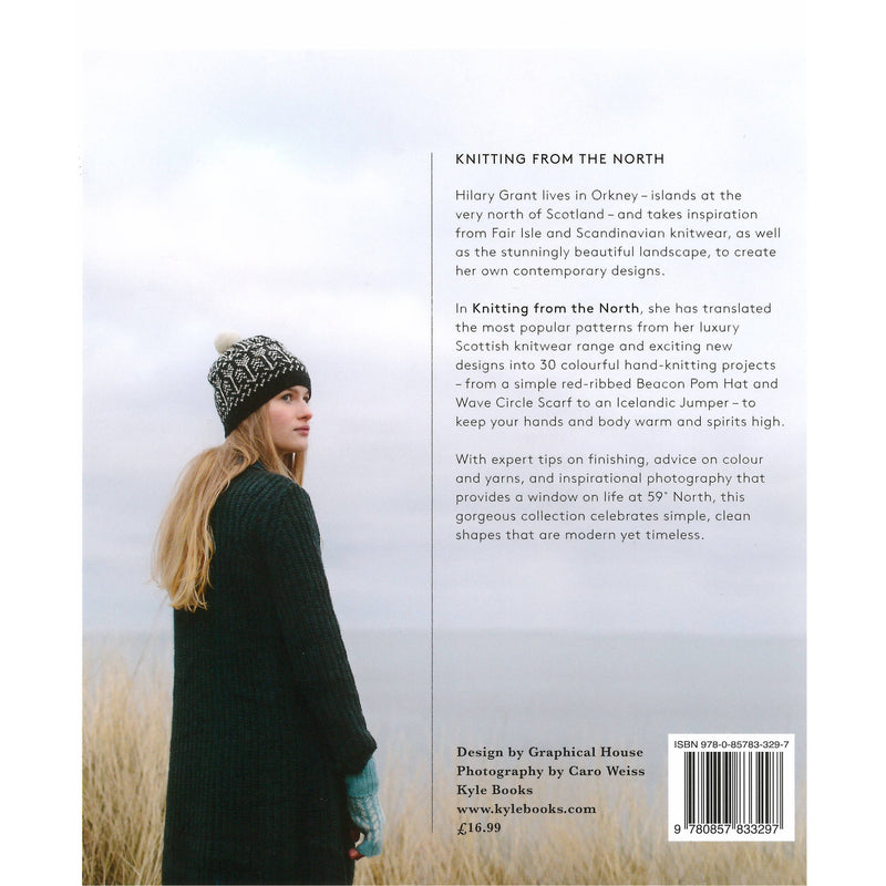 Hilary Grant - Knitting From The North back cover