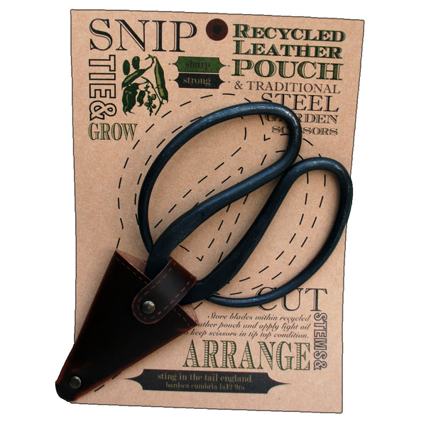 Large Gardening Scissors in Pouch
