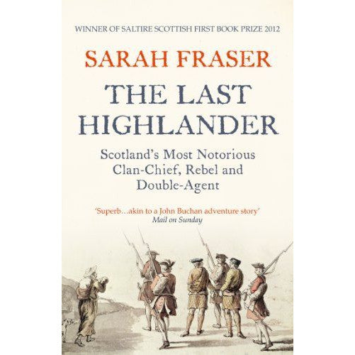 Sarah Fraser - The Last Highlander - book cover