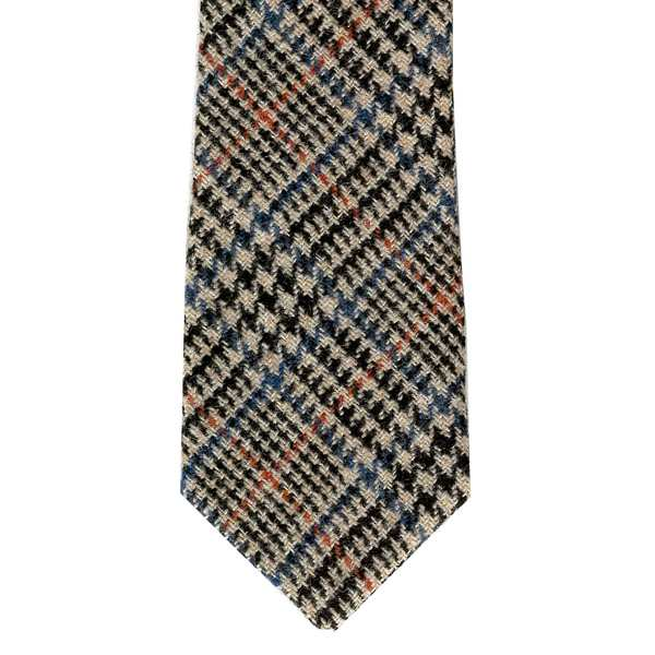 Leather Guild Gents Tie - Prince Of Wales Islay Tweed