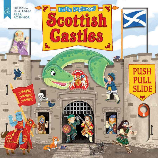 Little Explorers Scottish Castles front