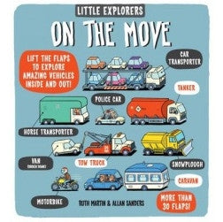 Little Explorers: On The Move - book