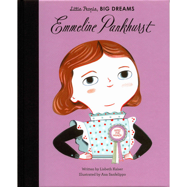 Little People Big Dreams Emmeline Pankhurst
