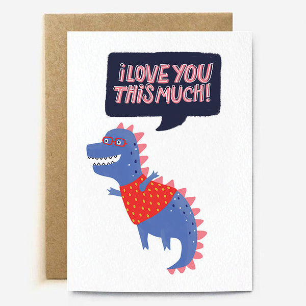 Love You This Much Card TCC014