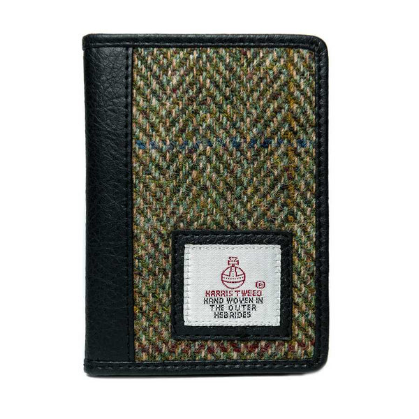 Maccessori Harris Tweed Credit Card Holder Country Green CB3049-C001T front