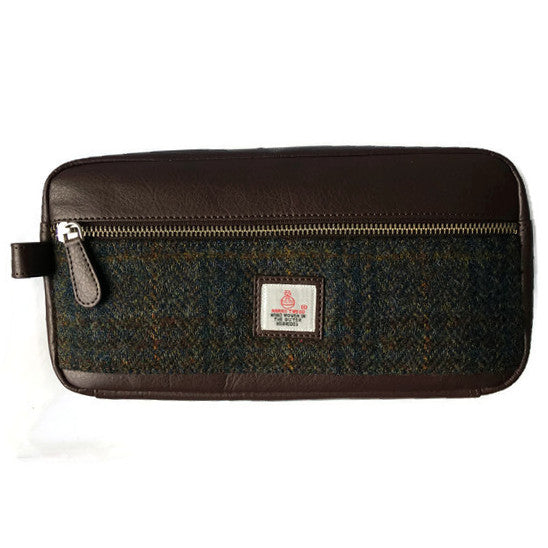 Maccessori Wash Bag Heather Harris Tweed