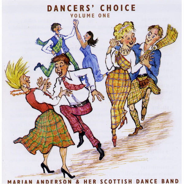 Marian Anderson's Scottish Dance Band - Dancers' Choice Vol 1 CD