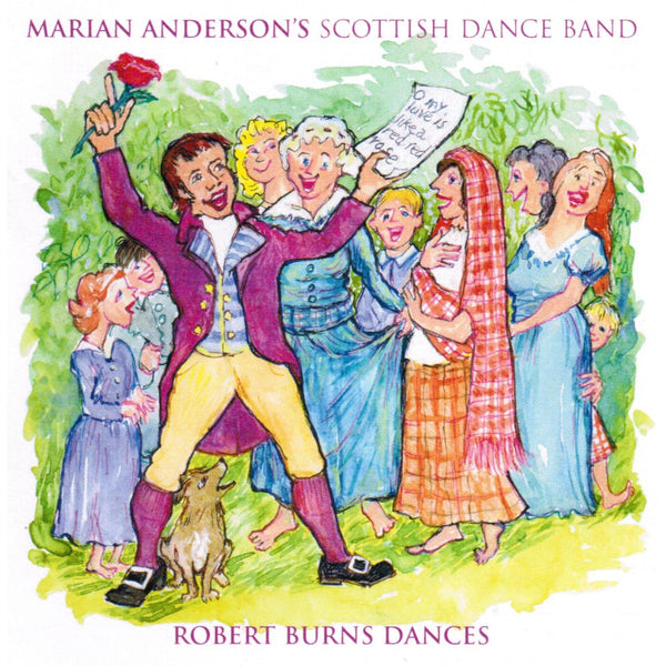 Marian Anderson's Scottish Dance Band  - Robert Burns Dances CD