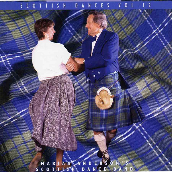 Marian Anderson's Scottish Dance Band - Scottish Dances Volume 12 CD front