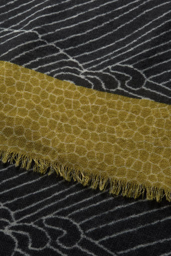 Masai Clothing Ariana Scarf in Honey Org 183403983-4279 fringe