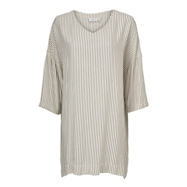 Masai Clothing Garden Tunic in Chipmunk Stripes 1000522-4427P front