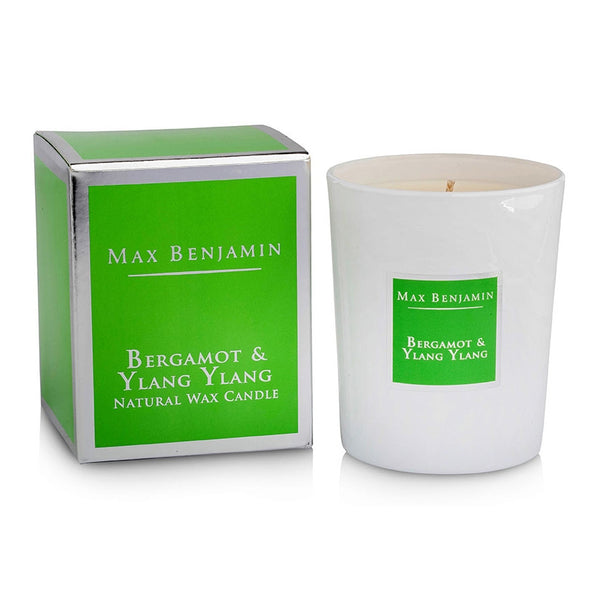 Max Benjamin Candle in Gift Box - Bergamot and Ylang-Ylang