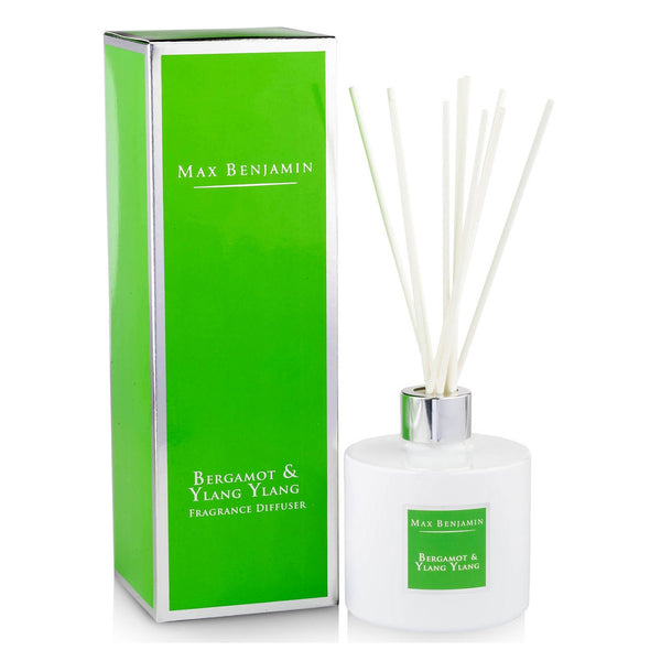 Max Benjamin Bergamot and Ylang-Ylang Reed Diffuser with box