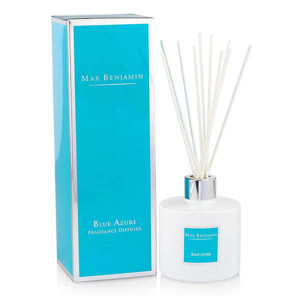 Max Benjamin Blue Azure Reed Diffuser with giftbox