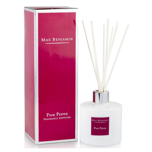 Max Benjamin Pink Pepper Reed Diffuser with giftbox