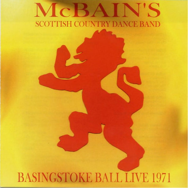 McBain's Scottish Country Dance Band - Basingstoke Ball Live 1971 CD