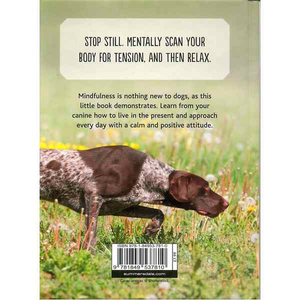 Mindfulness For Dogs by Sam Hart - back cover