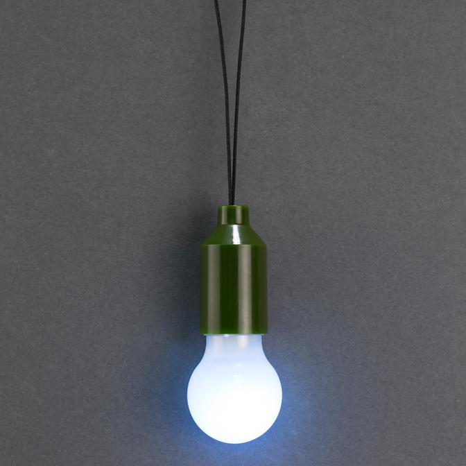 Mini LED Bulb Pull Light FL56 green