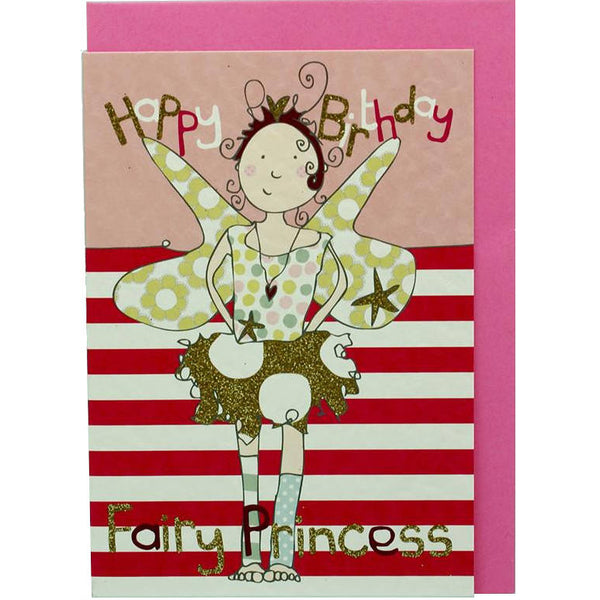 Happy Birthday Fairy Princess card front